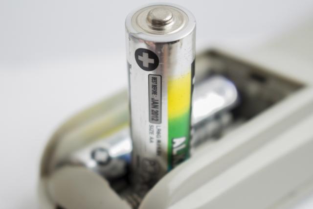 棒状の乾電池